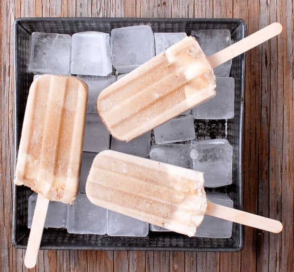 Rootbeer Float Popsicles from Boulder Locavore