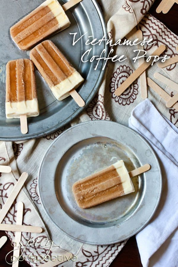 50 Popsicles: Vietnamese Coffee Popsicle