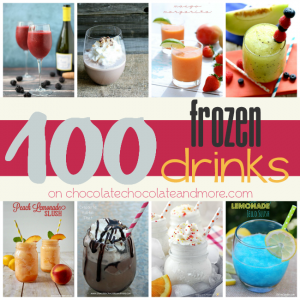 100 Frozen Drinks Square