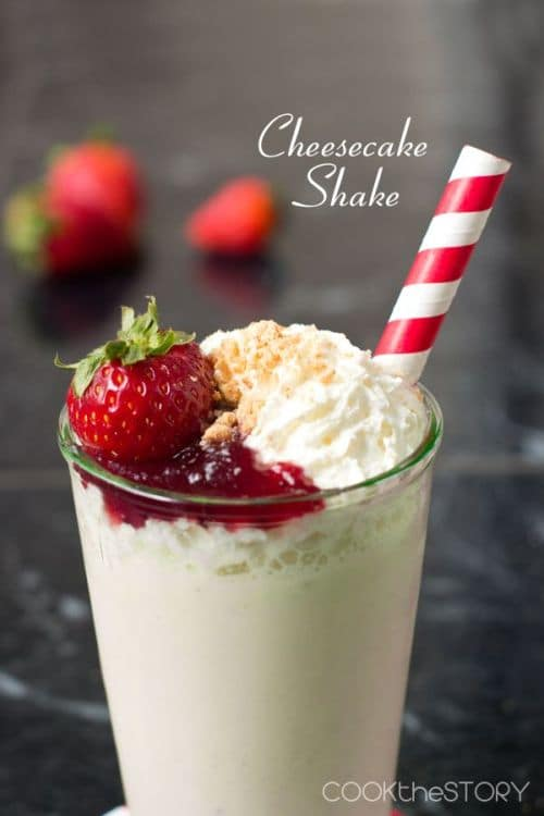 100 Frozen Drinks: Cheesecake Milkshake