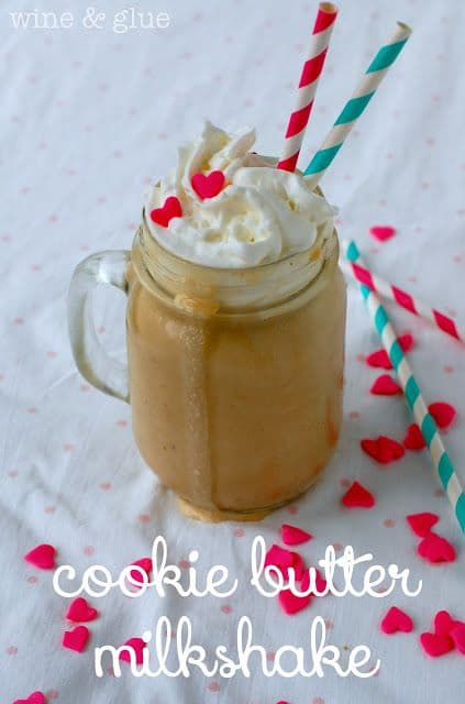 100 Frozen Drinks: Cookie Butter Milkshake