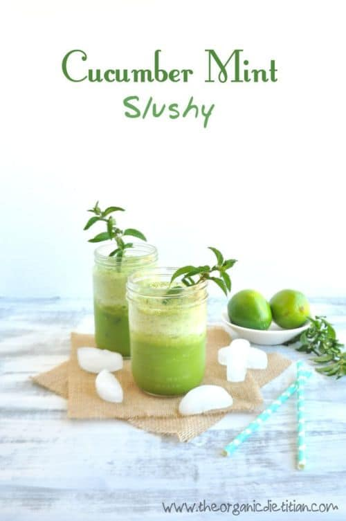 100 Frozen Drinks: Cucumber Mint Slushy