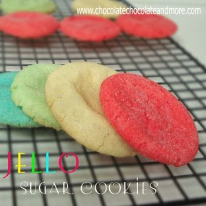 Jello Sugar Cookies-the possibilities are endless!