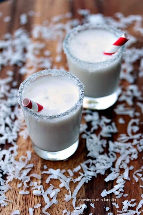 100 Frozen Drinks: Mini Coconut Milkshakes