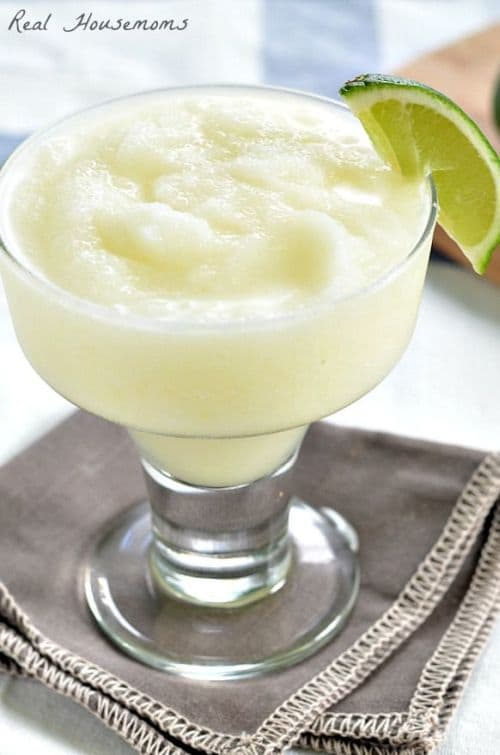 100 Frozen Drinks: Pina-Rita (a pina colada margarita mash up)