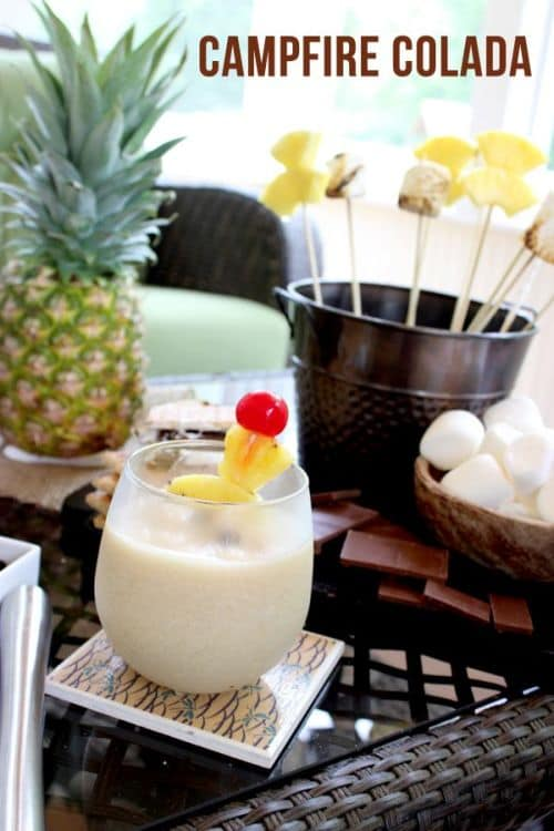 100 Frozen Drinks: The Campfire Colada
