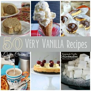 50 Very Vanilla Recipes SQUARE