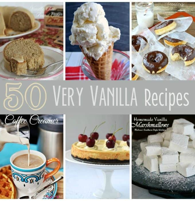 50 Very Vanilla Recipes