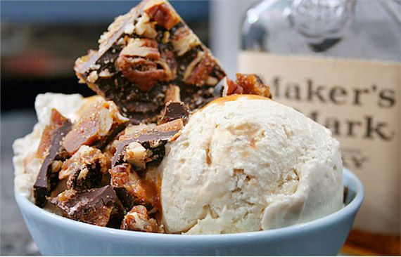 50 Very Vanilla Recipes: Bourbon Vanilla Ice Cream