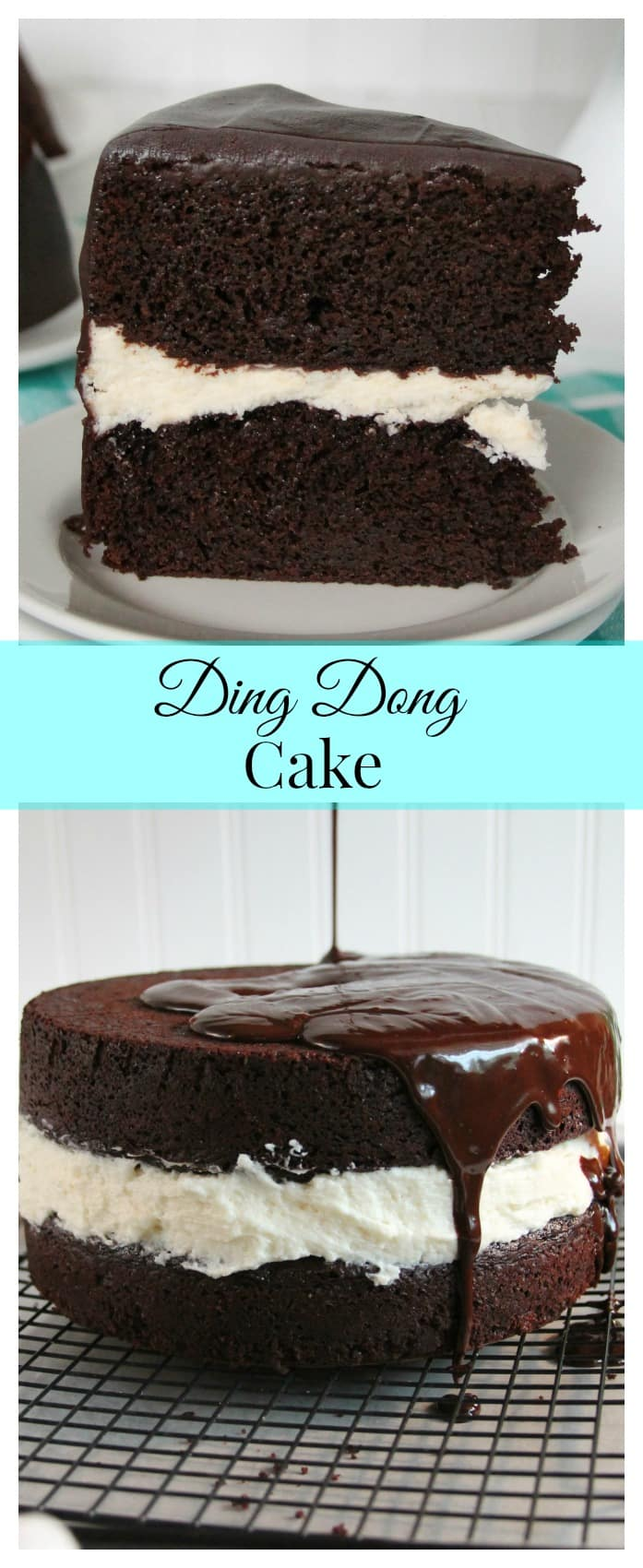 Ding Dong Cake Recipe - Chocolate Chocolate and More!