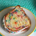 Everything is better with sprinkle especially when it's a Funfetti Pound Cake made from scratch!