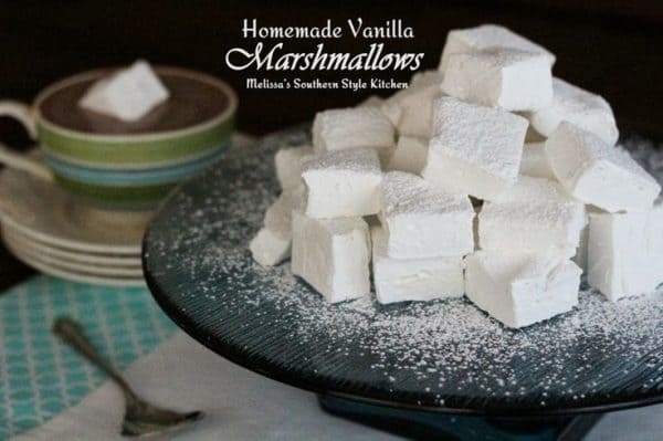 50 Very Vanilla Recipes: Homemade Vanilla Marshmallows