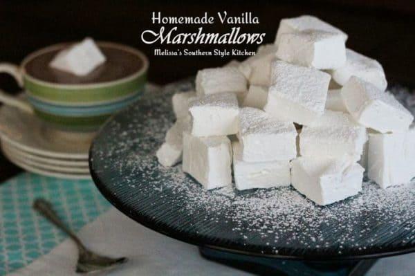 50 Very Vanilla Recipes: Homemade Vanilla Marshmallows