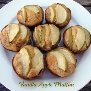 Vanilla Apple Muffins
