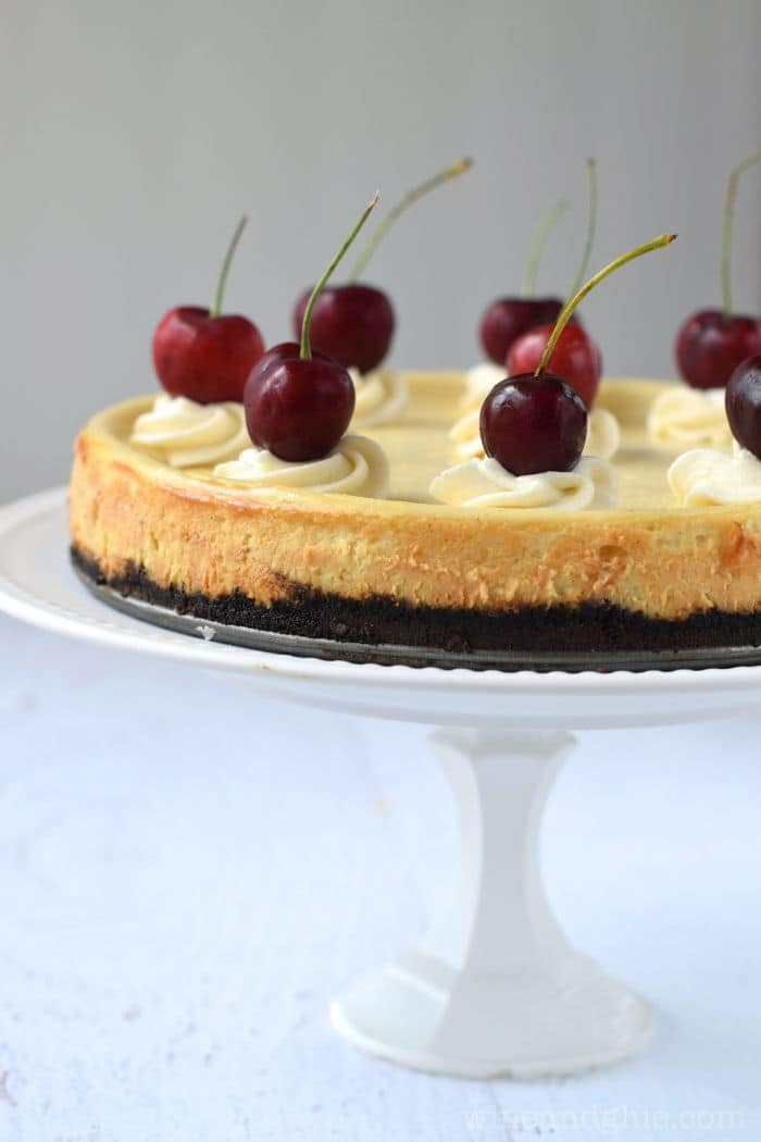 50 Very Vanilla Recipes: Vanilla Bean Cheesecake