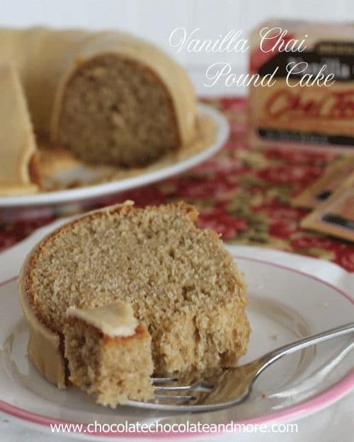 50 Very Vanilla Recipes: Vanilla Chai Pound Cake