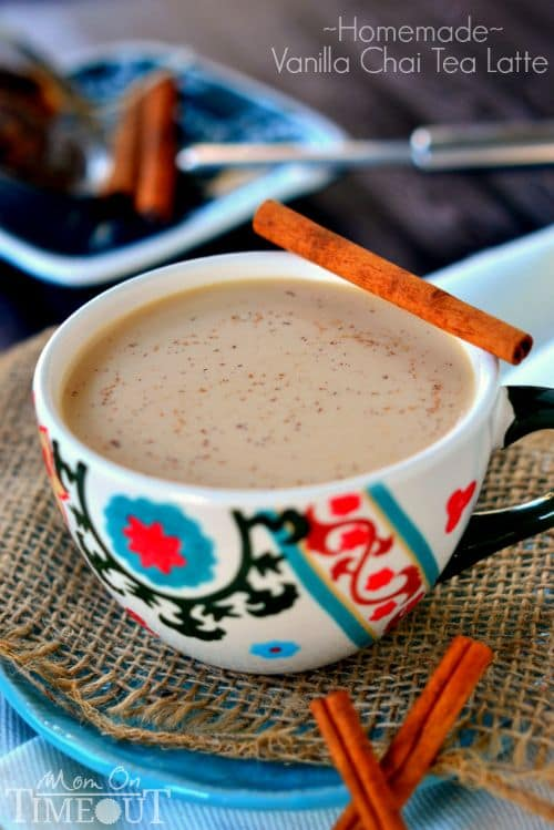 50 Very Vanilla Recipes: Vanilla Chai Tea Latte
