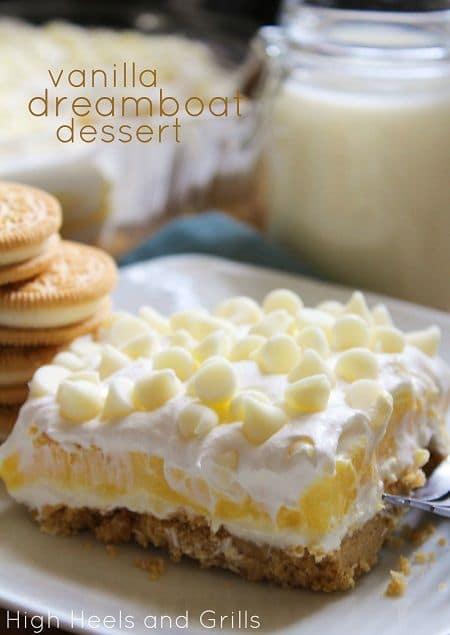 50 Very Vanilla Recipes: Vanilla Dreamboat Dessert