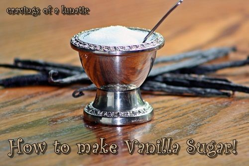 50 Very Vanilla Recipes: Vanilla Sugar