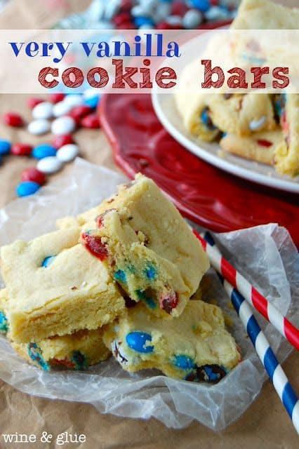 50 Very Vanilla Recipes: Very Vanilla Cookie Bars