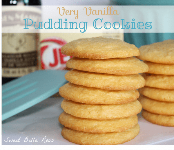 50 Very Vanilla Recipes: Very Vanilla Pudding Cookies