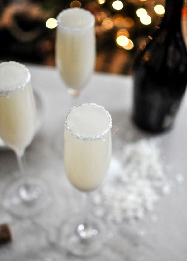 50 Very Vanilla Recipes: Coconut Vanilla Bellinis