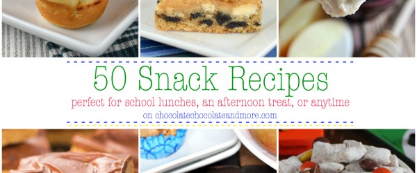50 Snack Recipes