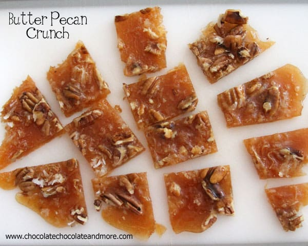 Butter Pecan Crunch-A light buttery taste combined with pecans and coconut, makes a great food gift!