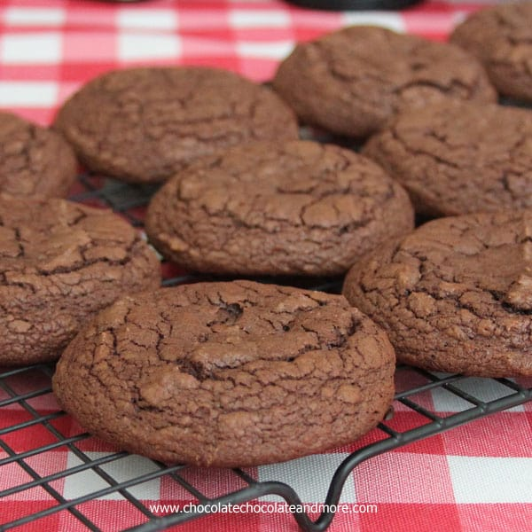 Chocolate Cake Mix Cookies and Smart Cookies Cookbook-create adorable Puppy Cookies!