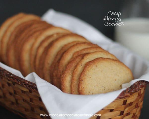 Almond cookie crisp recipe