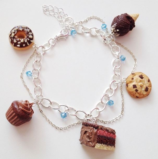 Tiny Hands Chocolate Bracelet