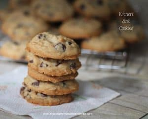 Kitchen Sink Cookies-oatmeal, coconut, pecans, chocolate and more!