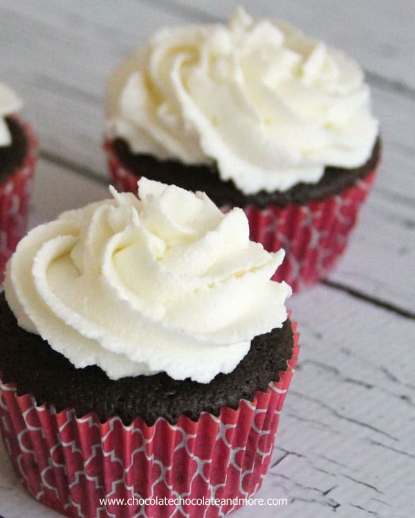 white butter cream frosting