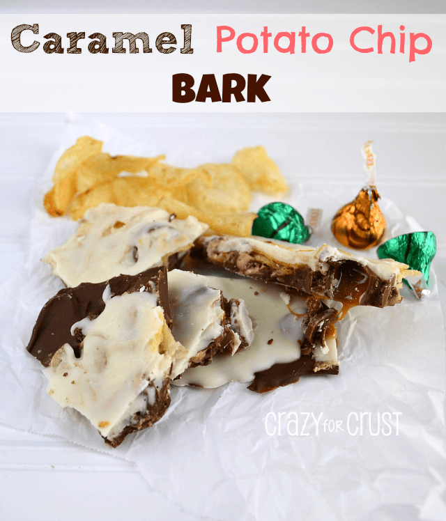 Caramel Potato Chip Bark-Crazy for Crust