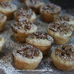 Pecan Tea Time Tassies-bite sized tarts with the flavor of Pecan Pie