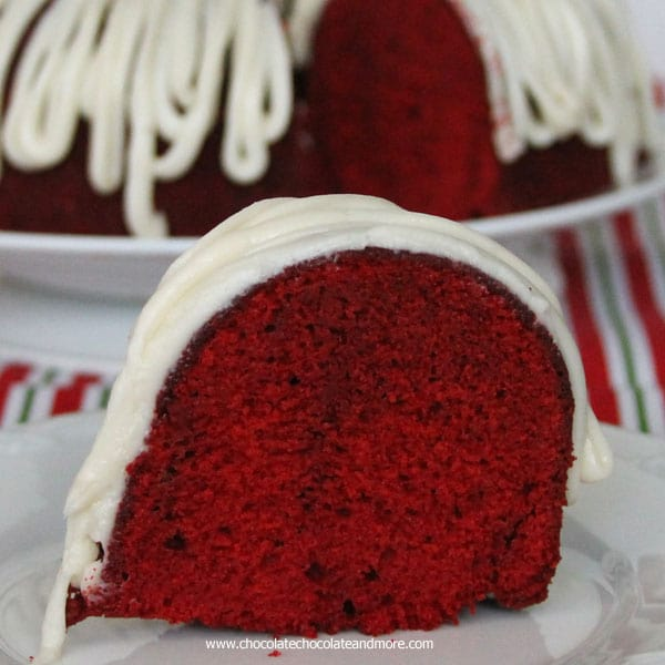 Red Velvet Bundt Cake-moist crumb, vibrant color, this cake is perfect for any occasion, especially the Holidays!