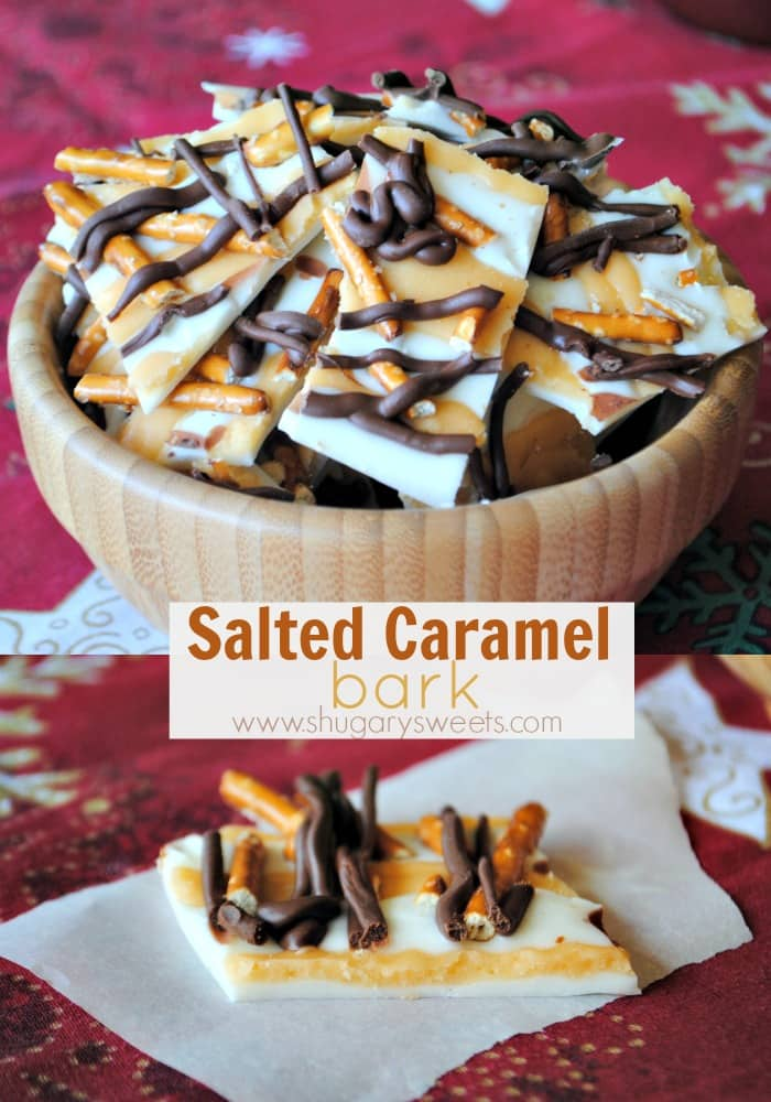 Salted Caramel Bark-Shugary Sweets