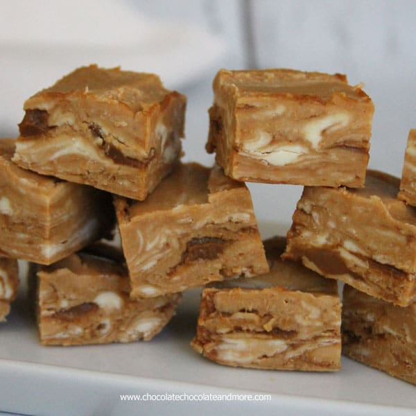 Dulce de Leche Caramel Fudge - Chocolate Chocolate and More!