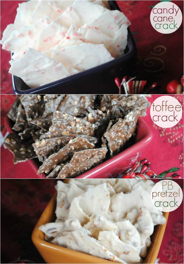 holiday crack 3 ways-Shugary Sweets