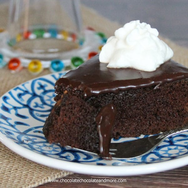Fudge Cake-a coffee lovers dream, a moist cake infused with coffee ...