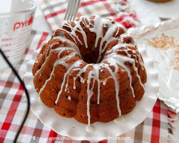 Chocolate Chip Coconut Bundt Cake - Chocolate Chocolate and More!