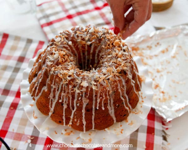 Coconut Cake With Chocolate Chunks And Coconut Drizzle Recipes ...