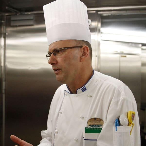 Royal Caribbean Sous Chef Johann Pirker