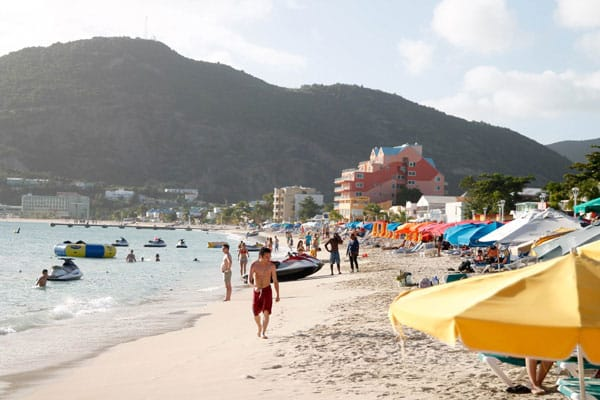 Beaches of St. Maarten