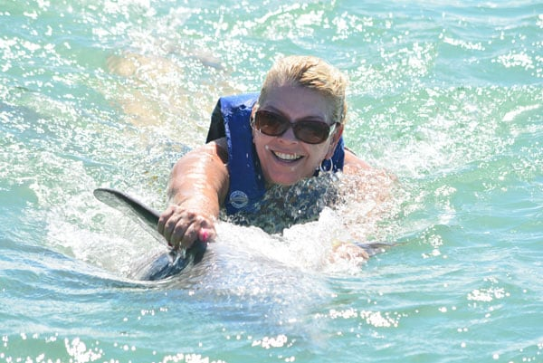 Swimming with Dolphins, St. Maarten