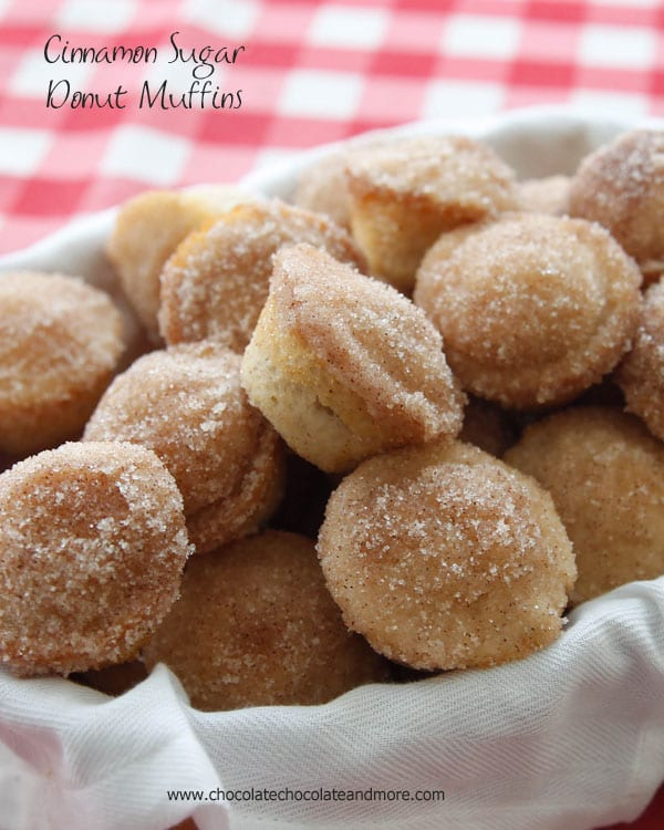 Sugar Donut Muffins-the softness of a donut in the shape of a muffin ...