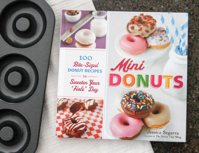 Mini Donuts Cookbook