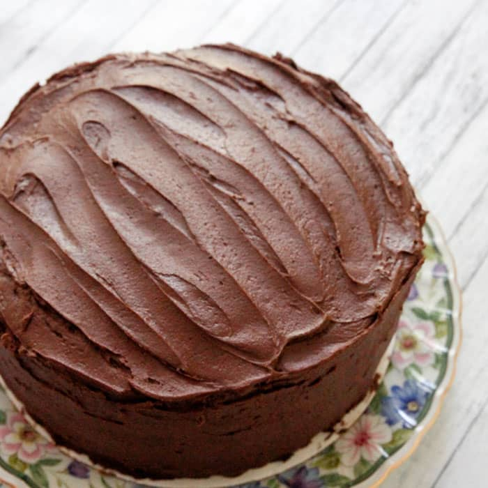 Recipe For A Yellow Cake With Chocolate Frosting