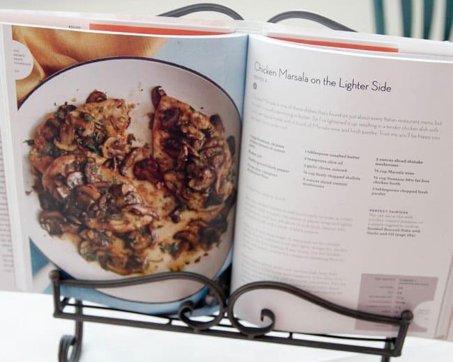 Chicken Marsala from Skinnytaste Cookbook