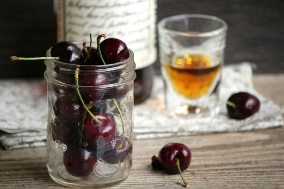 Bourbon Soaked Cherries by sheeats.ca